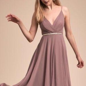 Anthropologie BHLDN Eva Dress in Violet Gray